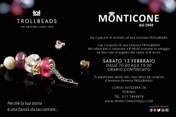 nuovo concetto f2f39 48aff 13 FEBBRAIO GIORNATA TROLLBEADS | Monticone