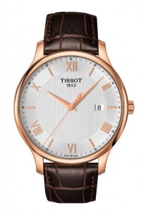 TISSOT TRADITION GENT plaque' T0636103603800