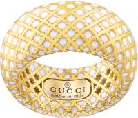 <span class=evid>Gucci</span><br />diamantissima oro giallo smalto bianco