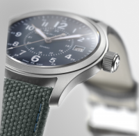 HAMILTON KHAKI FIELD QUARZO 38MM BLU H68201943