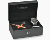 HAMILTON KHAKI AVIATION DAY DATE AUTO CHRONO H77796535 LIMITED EDITION NUMERATO