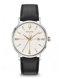 Bulova 98B254 Men's Classic Watch quarzo indici rosè