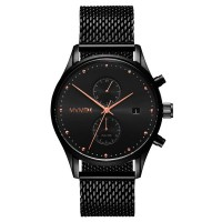 MVMT VOYAGER SERIES - 42 MM  SLATE BLACK ROSE