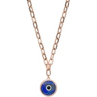 EMPORIO ARMANI Collana Eyes On The World In Acciaio placcato EGS2526221