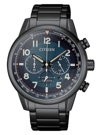 Citizen Military crono all-black CA4425-87L