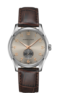 Hamilton JAZZMASTER THINLINE SMALL SECOND QUARTZ H38411580
