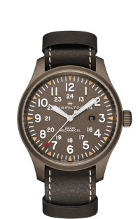 Hamilton H69829560 KHAKI FIELD MECHANICAL 50 mm LIMITED EDITION 500 PEZZI