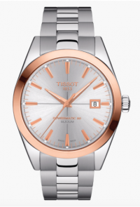 TISSOT GENTLEMAN POWERMATIC 80 SILICIUM 18K GOLD BICOLORE T927.407.41.031.00
