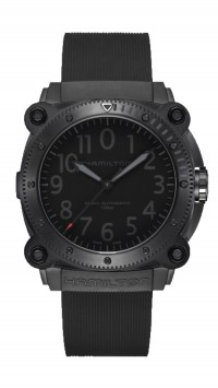Hamilton KHAKI NAVY BELOWZERO AUTO LIMITED EDITION H78505332 RED