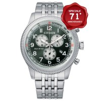 Citizen Aviator Crono AT2460-89X verde