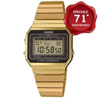CASIO VINTAGE PLAQUE' A700WEG-9AEF ULTRAPIATTO 6mm