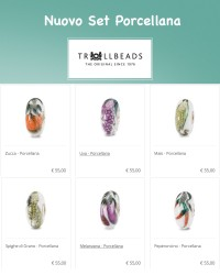 Trollbeads Set Porcellana Natura Autunno 2020