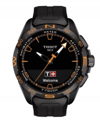 TISSOT T-TOUCH CONNECT SOLAR T1214204705104 NERO ARANCIO
