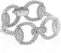 BRACCIALE HORSEBIT LIGHT SILVER
