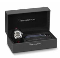 HamiltonPAN EUROP AUTO - Special Edition - doppio cinturino grigio