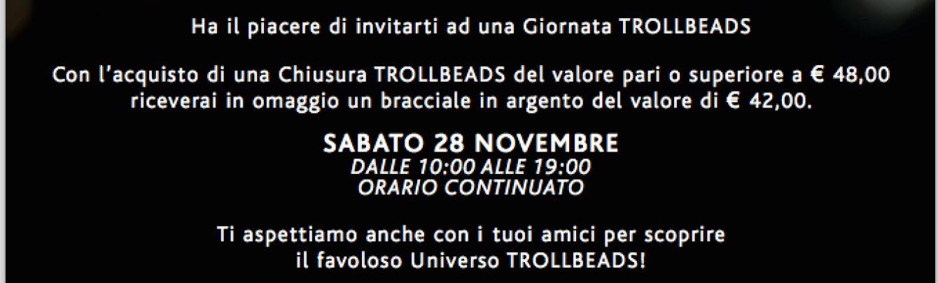 GIORNATA TROLLBEADS 28 NOVEMBRE